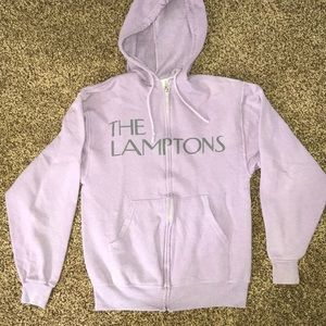 Blue & cream The Lamptons zip up